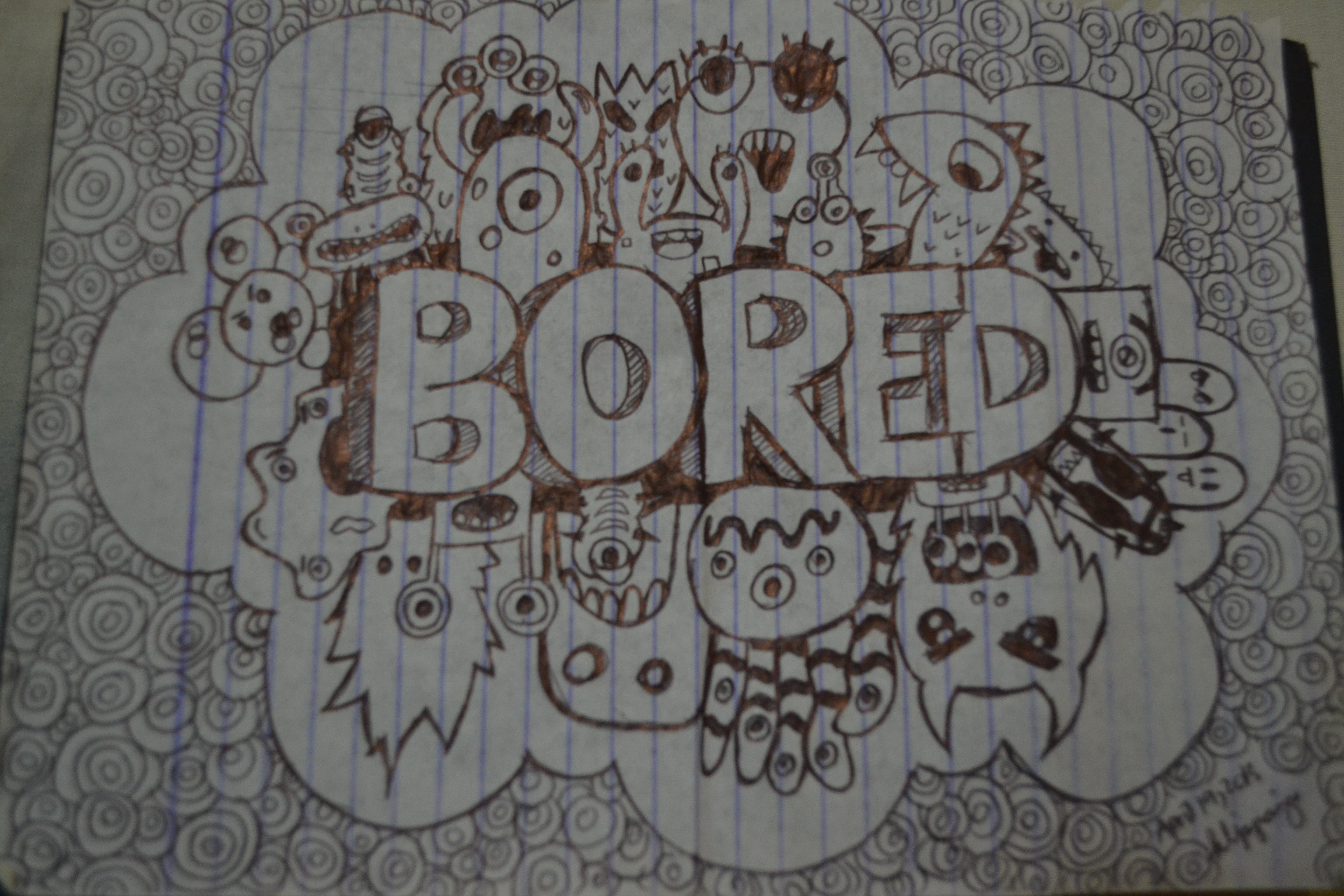 My doodle keyell jeyespi for What to doodle when your bored